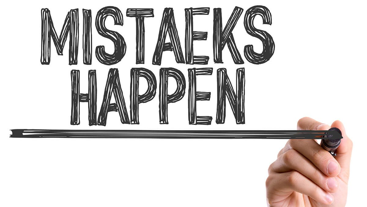 Mistakes Can Make You Better: Learn From Them